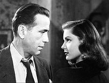 Fictional Blondes Bogart and Bacall in The Big Sleep