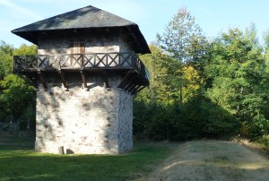 Reconstructed LIMES watch tower at Zugmantel