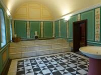 Reconstructed Villa Borg bath house