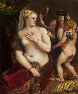 Titian's painting Venus with Mirror