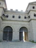 Roman north gate exterior Xanten, frontier town