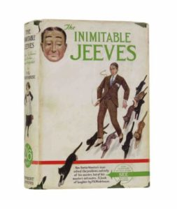 The Inimitable Jeeves 1st edition UK