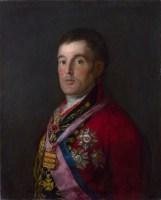 portrait of Duke of Wellington by Goya, 1812-14