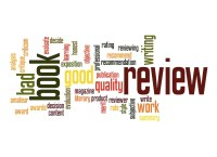 word cloud of book reviews