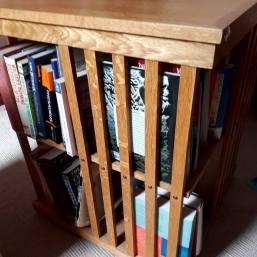 Liz's books behind bars
