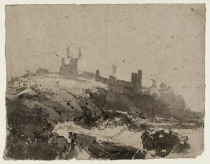 Photo © Tate CC-NC-NC 3.0 (Unported) https://www.tate.org.uk/art/artworks/turner-dunstanburgh-castle-from-the-south-d01113