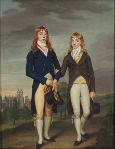 Eton_Schoolboys,_in_ad_Montem_dress,_by_Francis_Alleyne
