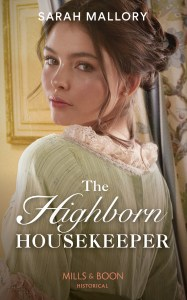 The Highborn Housekeeper by Sarah Mallory cover