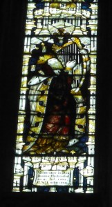 Light from Jane Austen window, Wincester cathedral