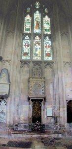 Jane Austen window, Winchester cathedral