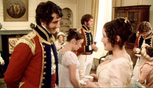 George Wickham and Lizzie Bennet from BBC Pride and Prejudice