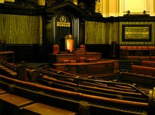 clue, County Hall Assembly Chamber