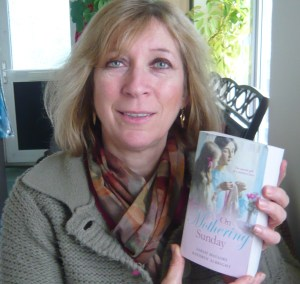 Sarah Mallory with her first romance for Mills & Boon