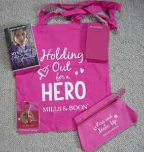 Sarah Mallory giveaway goodies