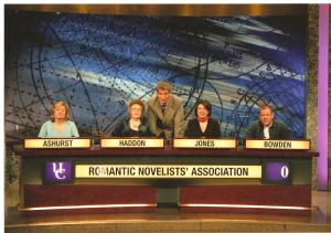 RNA team, University Challenge, the Professionals