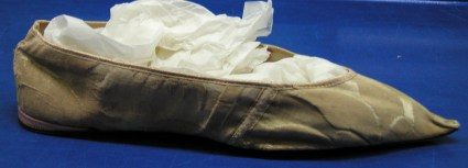 Regency evening slipper, Hereford collection