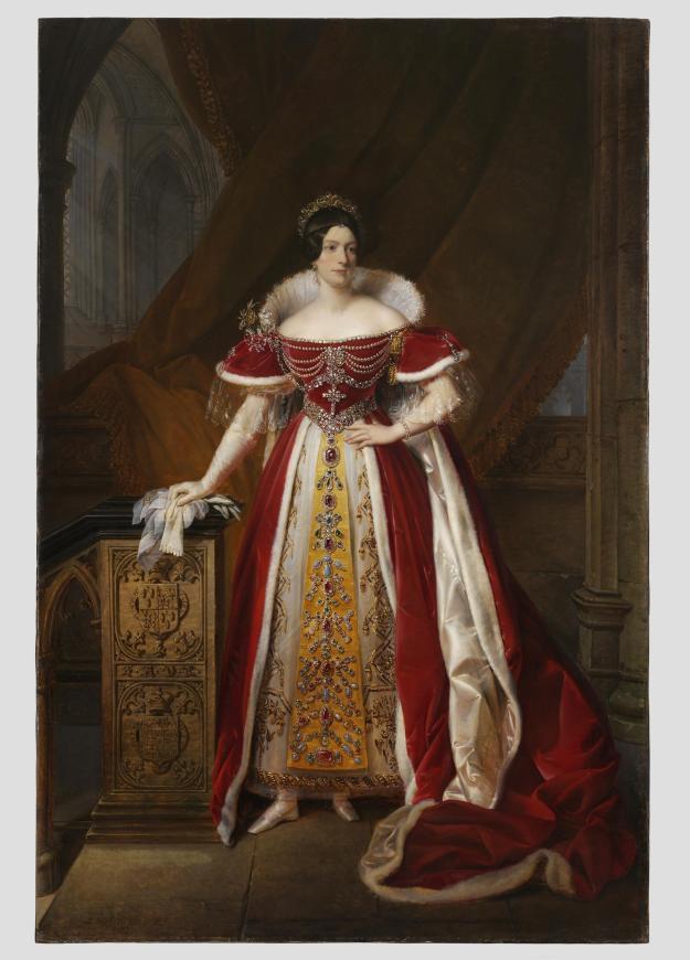1831 coronation portrait Frances Anne Vane Marchioness of Londonderry © Victoria and Albert Museum, London