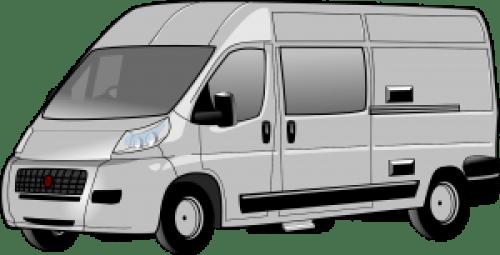 grey van