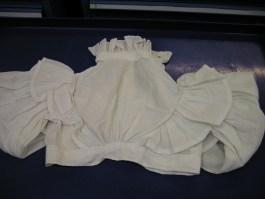1830-1840 habit shirt back view Hereford
