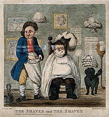 cartoon the shaver and the shavee