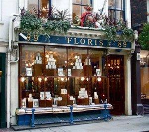 Window of Floris, Jermyn Street, London