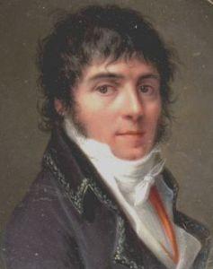 Joseph Chinard, painted 1801