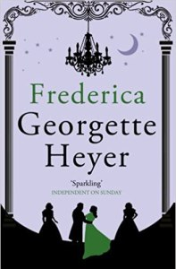 Early cover of Frederica by Georgette Heyer