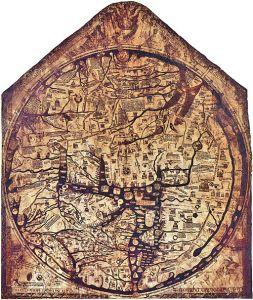 the mappa mundi, a whole new world