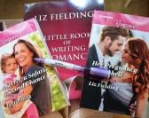 3 books by Liz Fielding plus torch pen