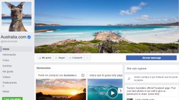 Ejemplo de estrategia de éxito en Internet: Turismo de Australia