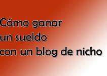 Como ganar dinero con un blog de Nicho