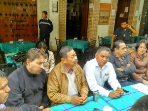 Emplaza PUP y PSD a Robles Montoya para sumarse a sus filas
