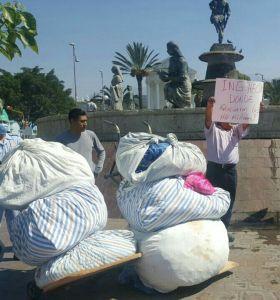 Sacan trabajadores del Aurelio Valdivieso trapos sucios no hay lavadoras denuncian