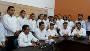 No soy el candidato  de Eduardo Martínez Helmes, asegura Eduardo  Bautista