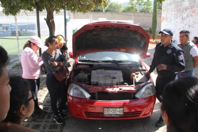 Recorre Feria de Prevención del Delito la agencia municipal de Pueblo Nuevo