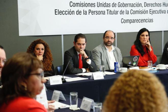 Comparecencia de las aspirantes a titular de la Comisión Ejecutiva de Atención a Víctimas (CEAV)