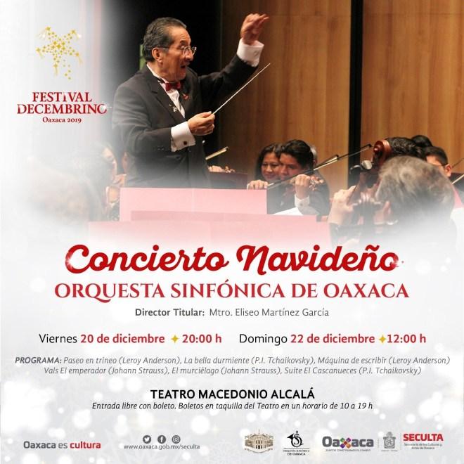 Ofrece Seculta conciertos en Santo Domingo de Guzmán y Teatro Alcalá