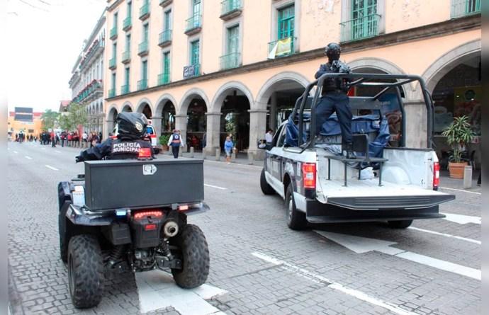 Los robos a comercios y asaltos han ido a la baja en la ciudad de Xalapa