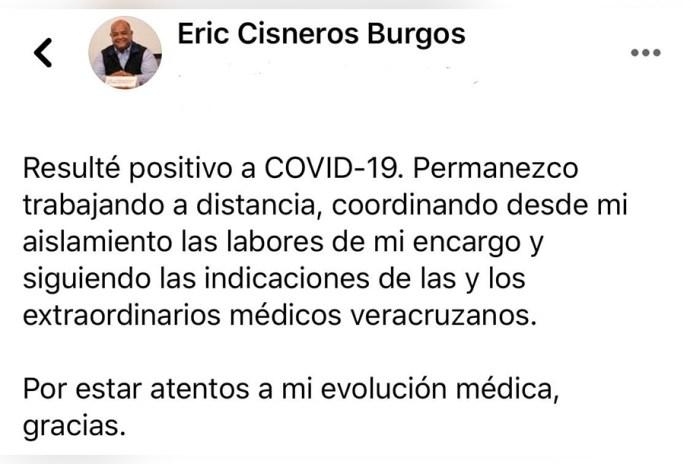 Eric Cisneros no llegó al Centro de Alta Especialidad