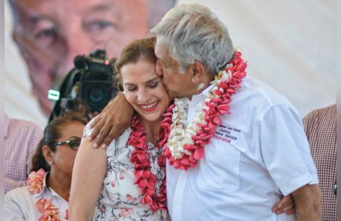 López Obrador minimiza la falta de empatía de su esposa