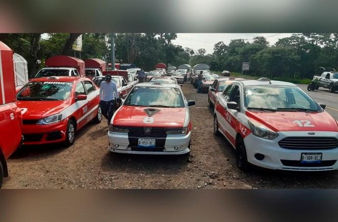 Taxistas de la región central montañosa fueron retenidos