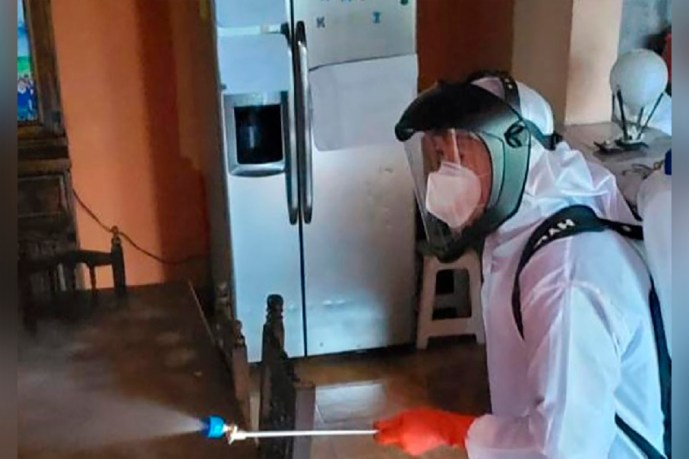 Crean sistema de sanitización que se brindará gratuitamente