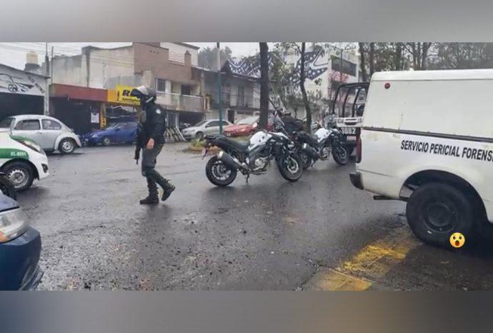 movilización policiaca