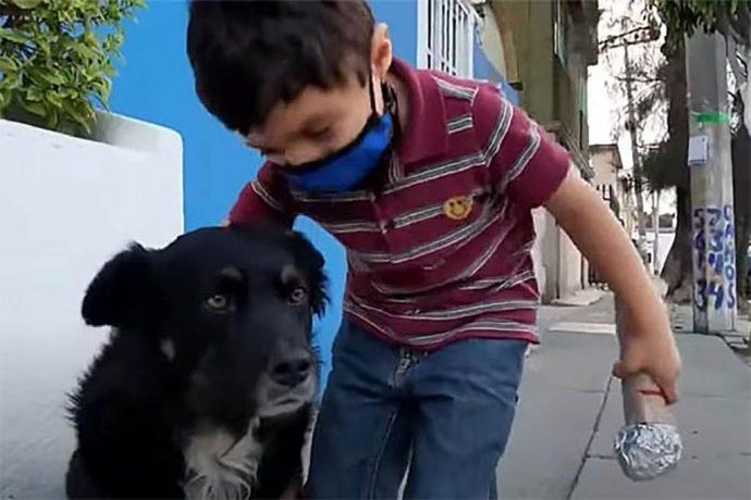 Niño reportero