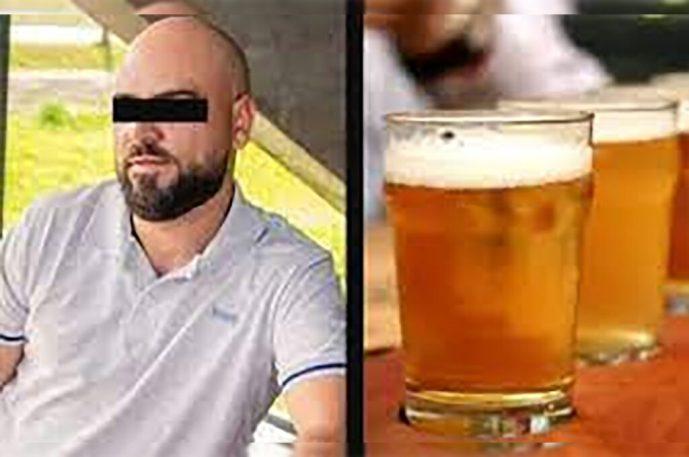 Hombre de 43 años fallece en su cumpleaños al intentar arreglar un barril de cerveza que sólo daba espuma; le explotó