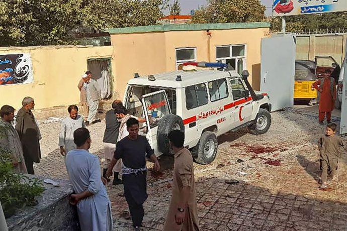 Ataque suicida deja decenas de muertos y al menos 90 heridos en una mezquita chiita en Afganistán