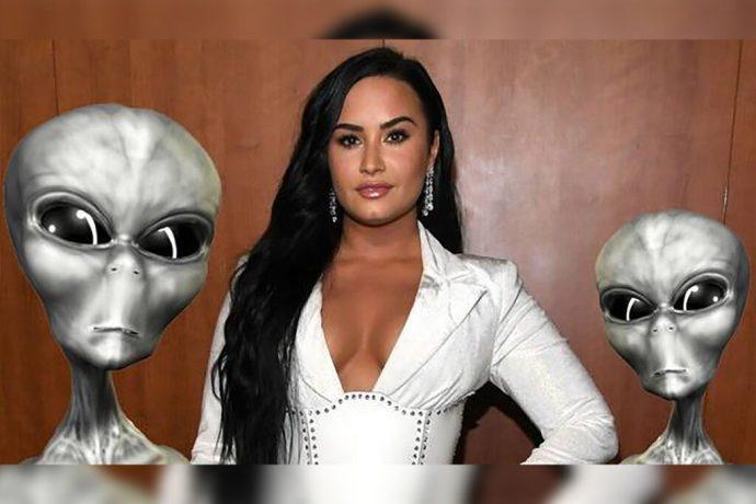"""""""Aliens es un término despectivo para cualquier cosa"""": Demi Lovato dice que el termino aliens es ofensivo para los extraterrestres"""