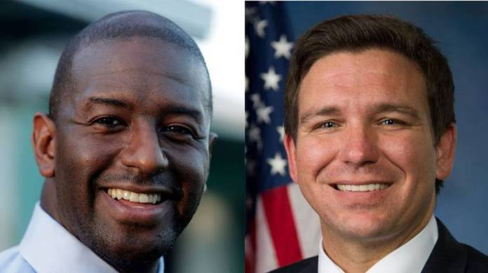 Democrat Andrew Gillum will face Republican Ron DeSantis in the general election for Florida governor after both men won their respective primary elections Tuesday night.