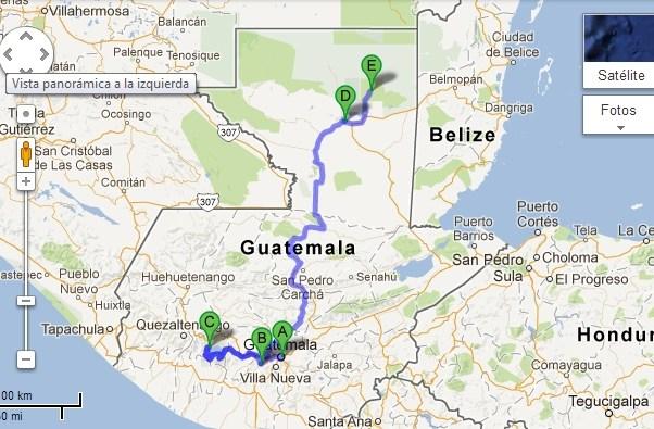 buses guatemala