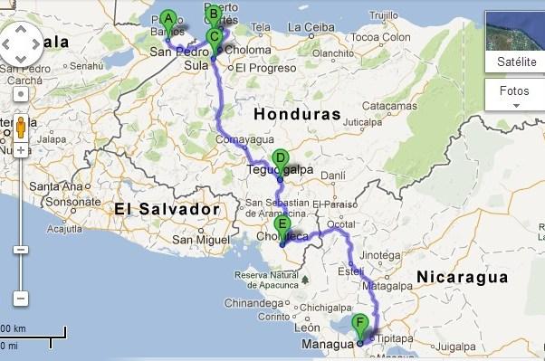 buses honduras